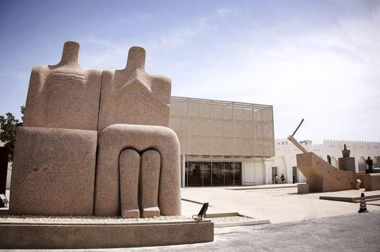 Visit the arab museum of modern art while in doha