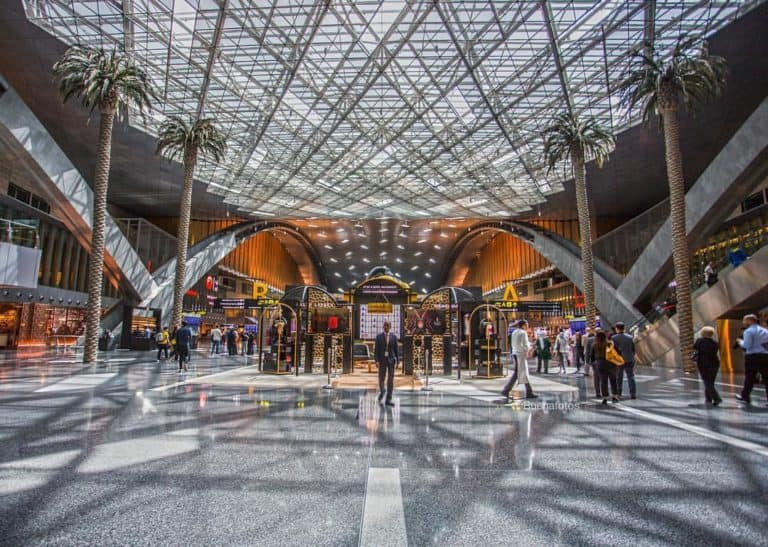 spending your day at the hamad international airport