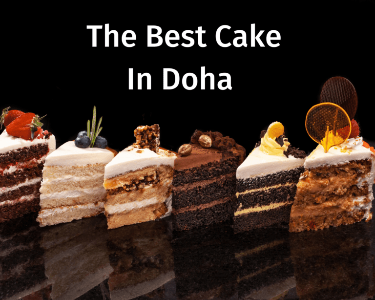 The Best Cake In Doha : Let Them Eat Cake