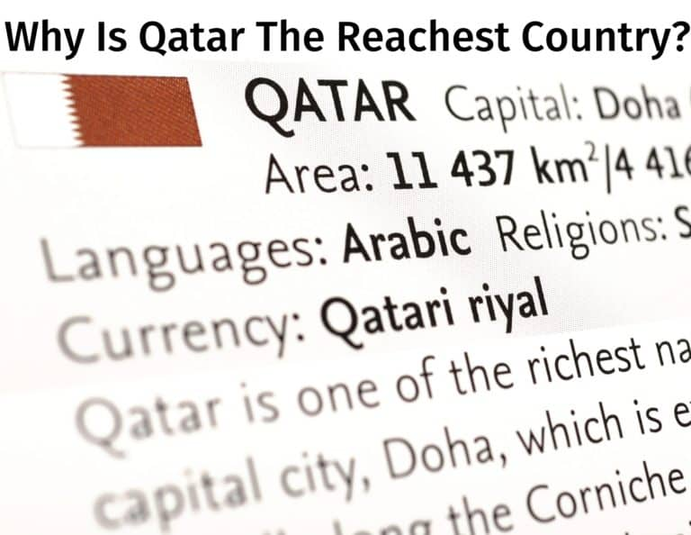 Why Qatar Is The Richest Country In The World?